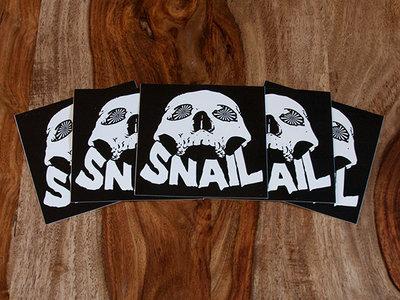 Snail Skull Sticker 5-Pack main photo