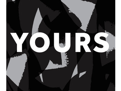 Yours - 'Hard To Speak' - Limited Edition Screen Print main photo