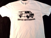 """""""Fight The Power Van"""" on white soft cotton T photo"""