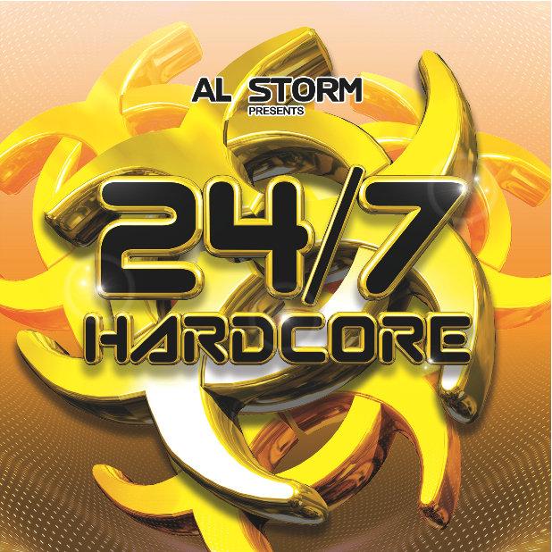 Chandelier (Silk Cuts Remix) | Al Storm (24/7 Hardcore)