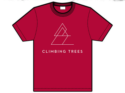 RED Climbing Trees Adult T-Shirt | 25% OFF main photo
