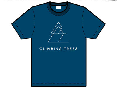 BLUE Climbing Trees Adult T-Shirt   25% OFF main photo