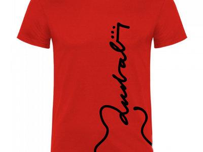 Camiseta Hombre Aniversario Roja main photo
