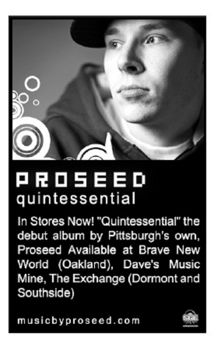 quintessential proseed the first full length album by proseed sample based production by nice rec brazen ulliversal and proseed most of the album is methodically infused