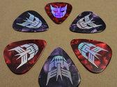 The Cybertronic Spree - Guitar Pick Set photo