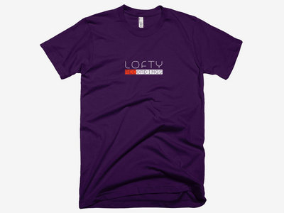 The Lofty Recordings Tee - EGGPLANT main photo