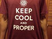 Keep Cool & Proper t-shirt photo