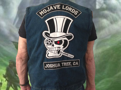 BLUE MOJAVE LORDS DENIM VEST main photo