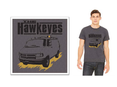 Heather Grey Unisex Van Logo T-shirt main photo