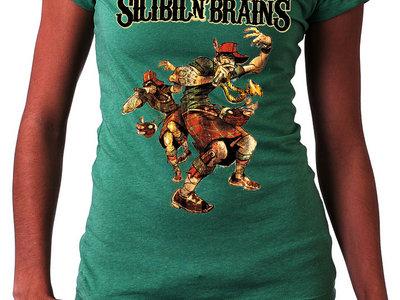 SNB Tartan Emcees T-shirt (Ladies) + Losers Album download main photo