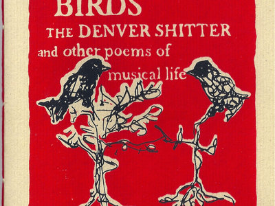 """The Glasgow Birds, The Denver Shitter and Other Poems of Musical Life"" Book main photo"