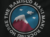 The Ramisco Maki Maki Rocking Horse - Mountain Tee photo