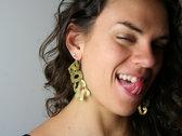 "Custom, Hand-Crafted ""Boss"" Fashion Earrings photo"