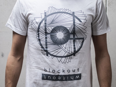 Blackout Whiteout T-shirt (white) main photo