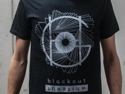 Blackout Whiteout T-shirt (black) main photo