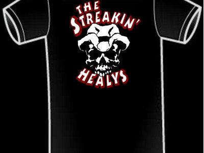 The Streakin' Healys Skull Logo T-shirt main photo
