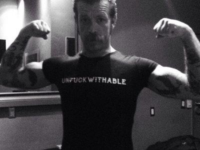 """UNFUCKWITHABLE"" T-SHIRT main photo"