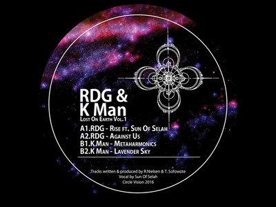 """CV004 - RDG & K Man - Lost On Earth Vol.1 (12"""" Vinyl) main photo"""