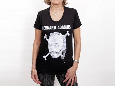 T-Shirt femme noir main photo