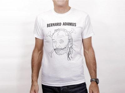 T-Shirt homme blanc main photo