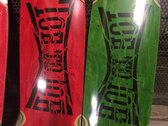 TOE TO TOE limited cruizer deck released by BURN CITY SKATES. photo
