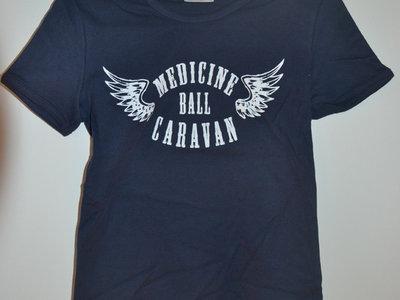 Winged logo Girlie T-shirt - Dark blue main photo