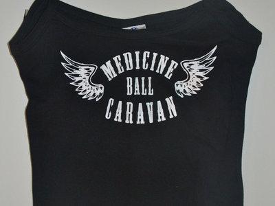 Winged logo Girlie tank T-shirt - Black main photo