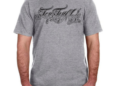 Men's Shirt with Tattoo Style Lettering main photo