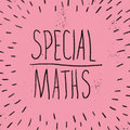 Special Maths image
