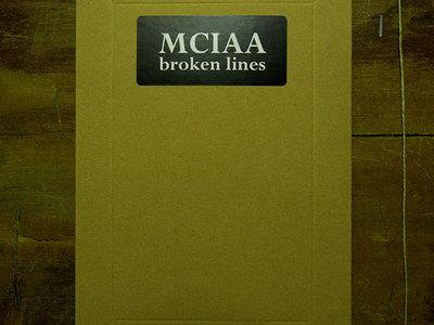 MCIAA 'broken lines' ARTIST'S BOOK + Music Digital Download main photo
