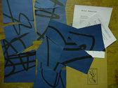 MCIAA 'broken lines' ARTIST'S BOOK + Music Digital Download photo