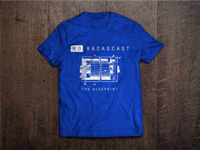 """The Blueprint"" T-shirt main photo"