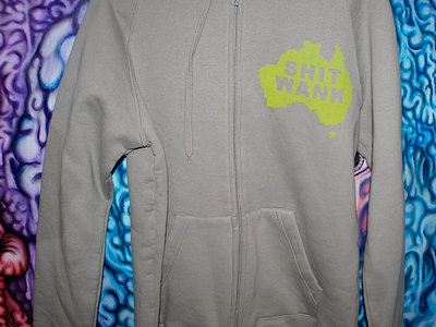 DIKC#NTPOOWORM Grey Hoodie Medium main photo