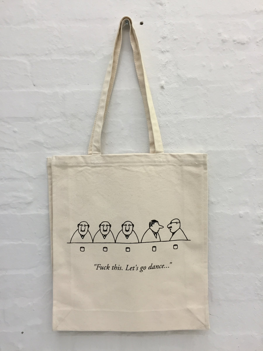 This Let S Go Dance Tote Bag Main Photo