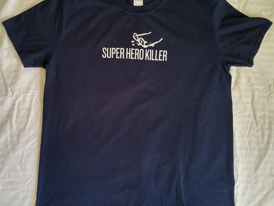 Super Hero Killer Navy T-shirt main photo