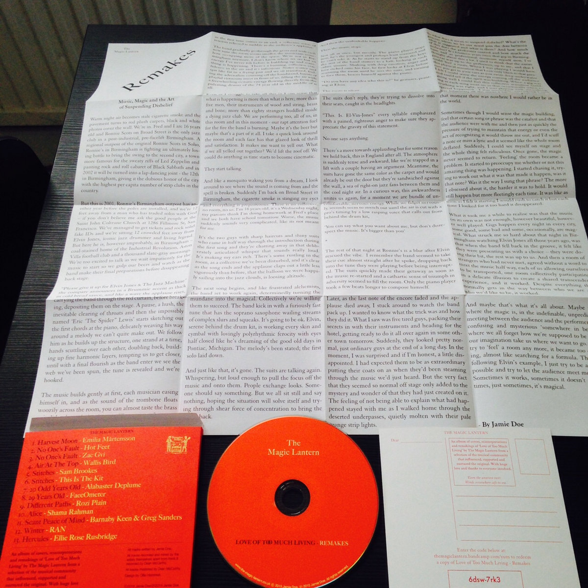 Scant Peace Of Mind Barnaby Keen  Greg Sanders Remake  The Magic  Comes In Lovely Printed Box With Cd Large Full Colour Poster With Original  Essay And Download Postcard Containing Free Download Of The Album English Essays For Students also Dkf Writing Services  Business Plan Writers For Hire