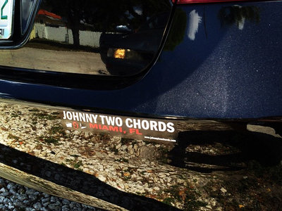 Johnny Two Chords bumper sticker main photo