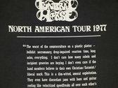 1977 tour t-shirt photo