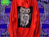 FAECALIBRIUM Red Hoodie photo