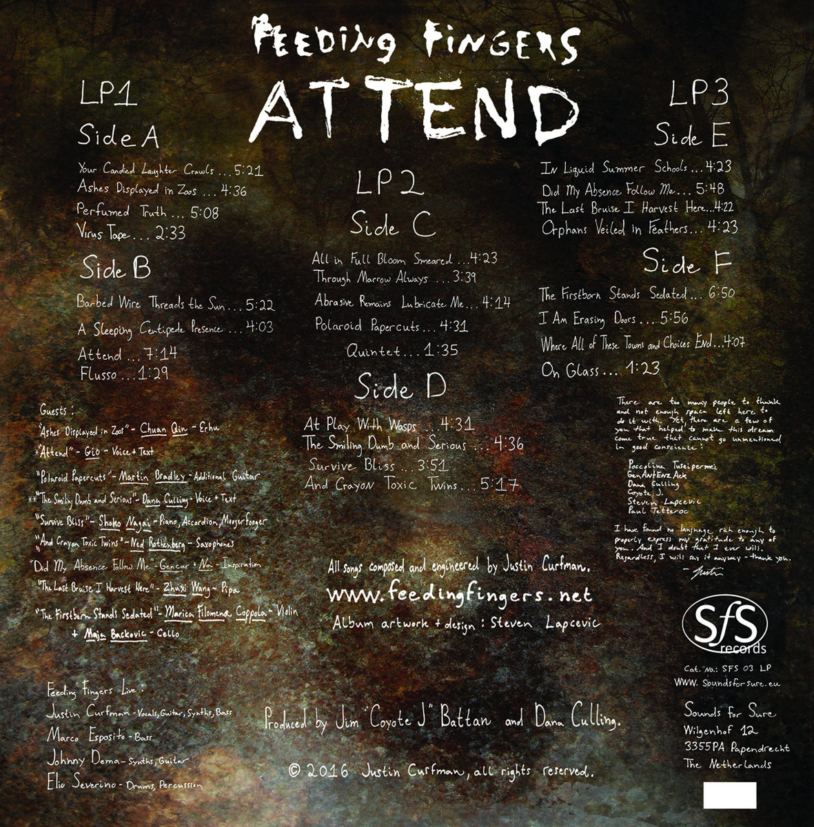 Attend feeding fingers we strongly encourage you to buy the lp directly from sounds for sure records save money and time stopboris Image collections