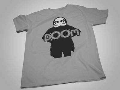The Doomgirl Tee w/ Free 'GRIMMROKK Tape'. main photo