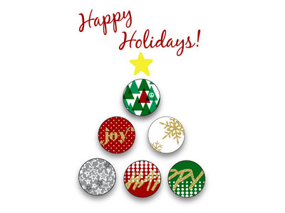 4533 Studio Holiday Button Pack main photo