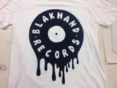 Blak Hand Records logo tee photo