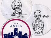 Bar Oasis Coaster photo