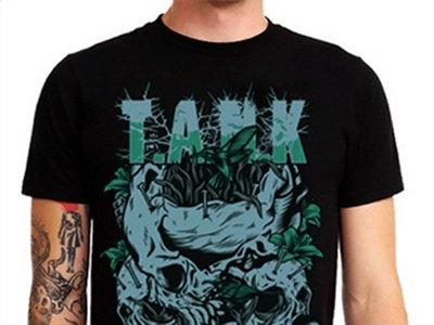 T.A.N.K SKULLNEST GREEN BLACK T-SHIRT main photo