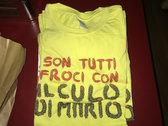 Salami & Sausage Design T-Shirt photo