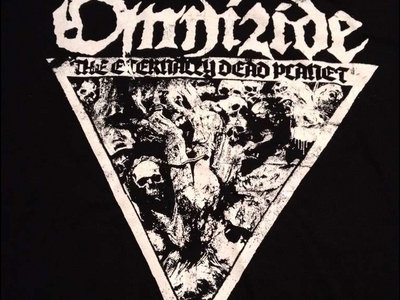 OMNIZIDE - The Eternally Dead Planet t-shirt main photo