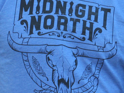 Midnight North Skull Logo Vintage Royal Women's Shirt main photo