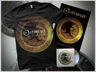 """The Ides Of March"" CD / Gold Tshirt / Poster main photo"