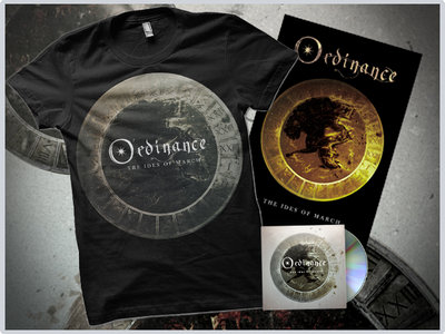 """""""The Ides Of March"""" CD / Silver Tshirt / Poster main photo"""